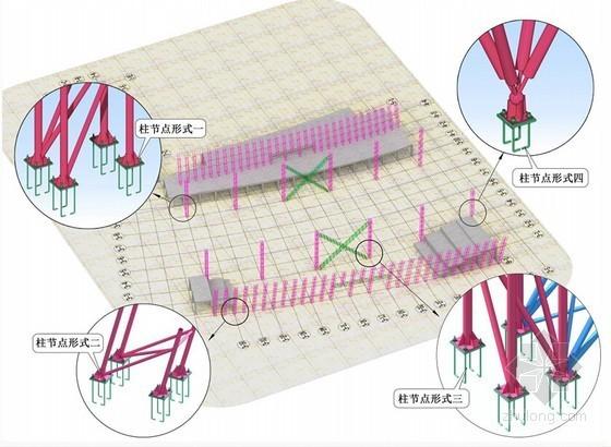 [西藏]文化体育中心工程钢结构制作安装施工方案(空间管桁架 网架)