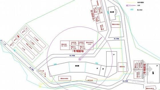 [广西]框架结构体育中心施工组织设计(中建技术标、总平面布置图)