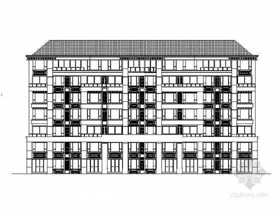 [四川]七层平瓦屋面三拼叠加住宅建筑施工图