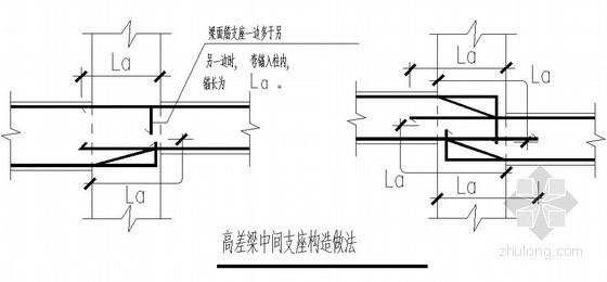 钢筋混凝土结构平面整体表示法梁构造通用图说明