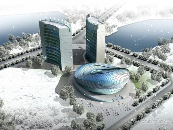 [江西]某五层城市规划展览馆建筑设计方案文本