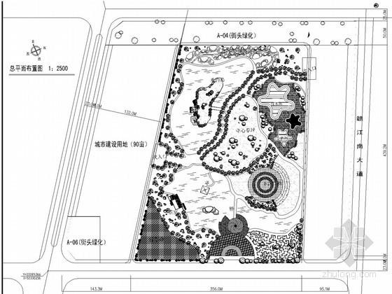 城市广场CAD平面图