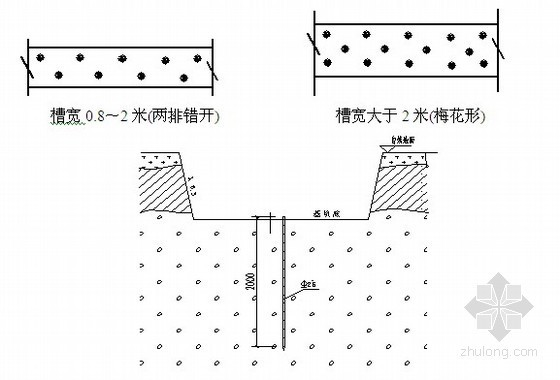 [重庆]公园边坡支护浆砌片石挡土墙施工方案