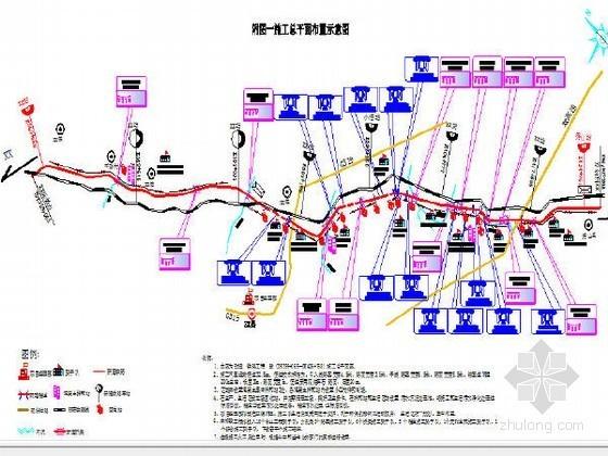 [四川]含瓦斯隧道67km双线I级铁路工程施工总价承包技术标329页(路桥涵隧轨道)