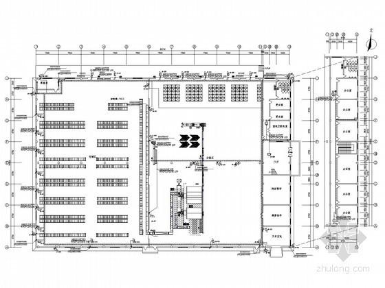 [安徽]物流配送中心二次深化智能弱电系统图纸