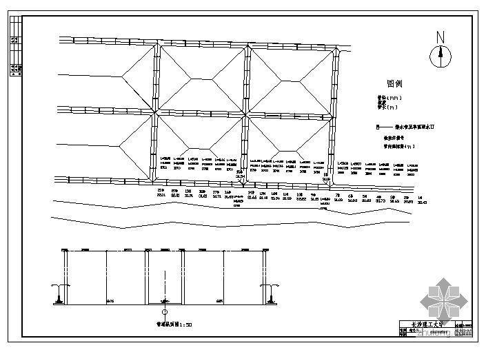 某截流式合流管道课程设计