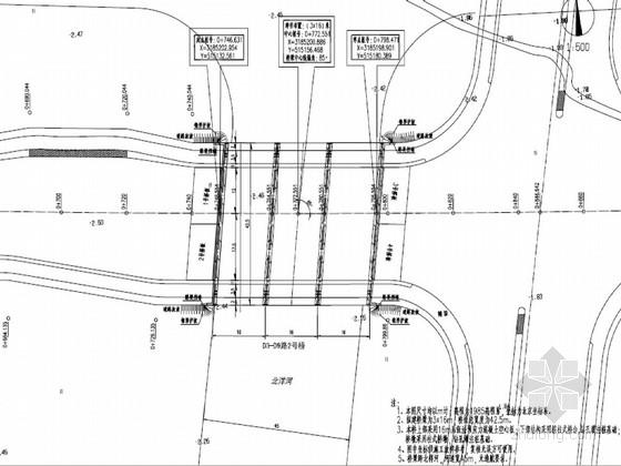 16m后张法预应力混凝土空心板桥施工图34张(桥宽42.50米)