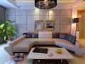 清新时尚客厅3D模型下载