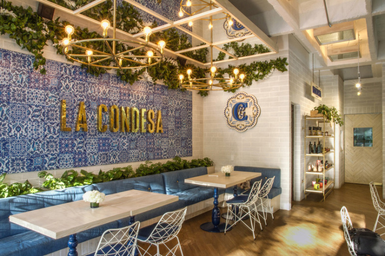 哥伦比亚的地中海风格餐厅