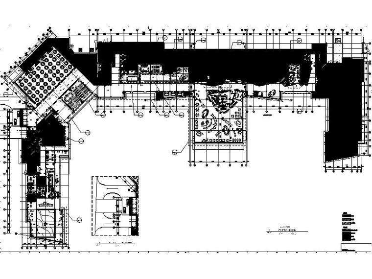 [青岛]集团旗下高端品牌休闲度假酒店室内设计施工图(含效果图)