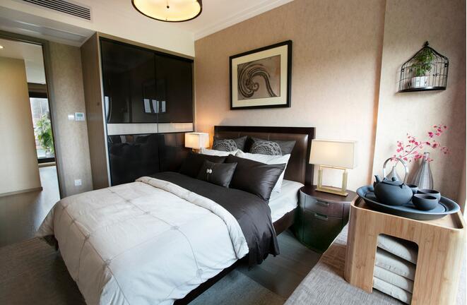 简雅中式风格卧室装修,喜欢的不得了