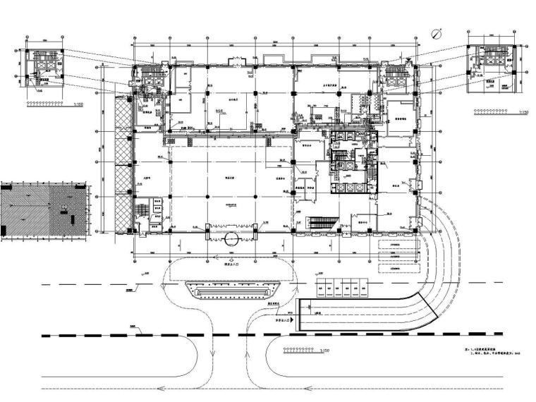 [赤峰]万达广场20层五星级酒店给排水热水中水消防系统施工图