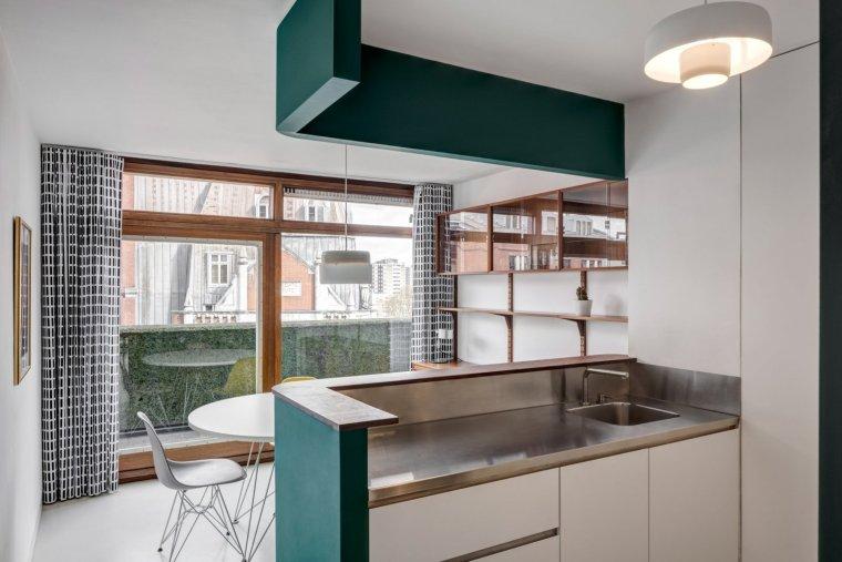 伦敦巴比肯庄园公寓改造-4