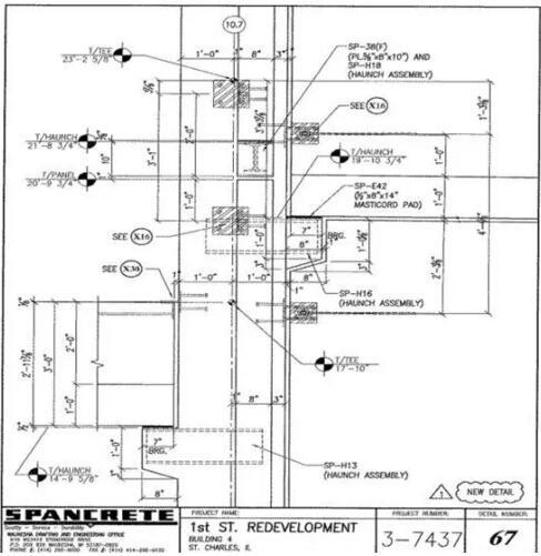 美国预制混凝土在立体停车场的运用案例(附图纸)_22