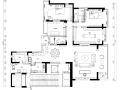 海归派轻奢系家居室内设计施工图及效果图