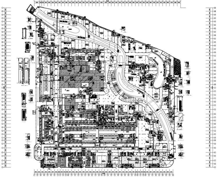 江苏地下商业及车库电气施工图(含人防)