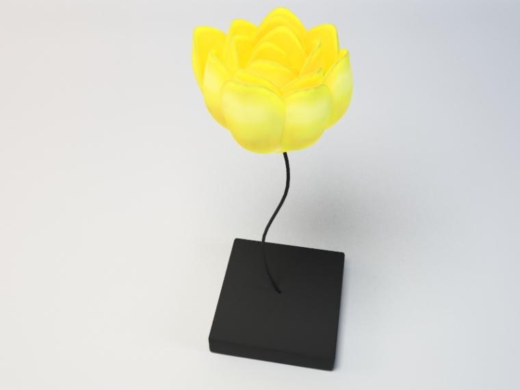 创意灯饰3D模型下载