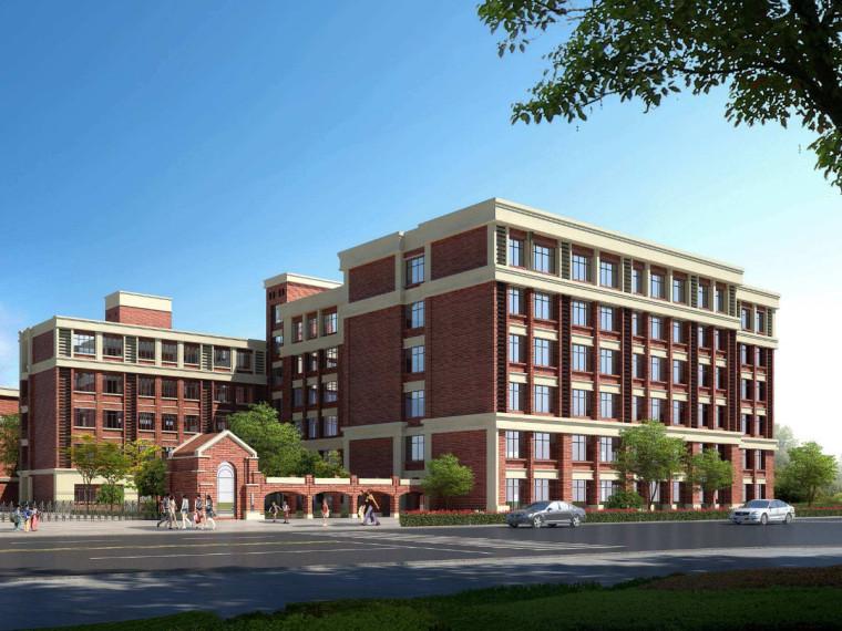 [山东]四层框架结构职工宿舍楼建筑工程量计算实例