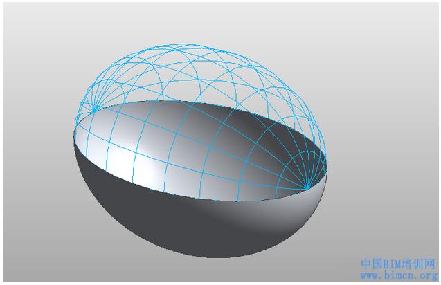 BIM软件小技巧:Revit二轴椭圆体压扁形成三轴