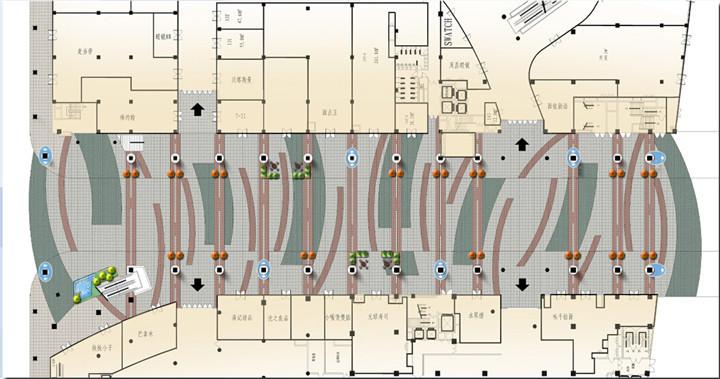 [广东]滨海风情商业街景观施工图(附方案文本+129张实景照)