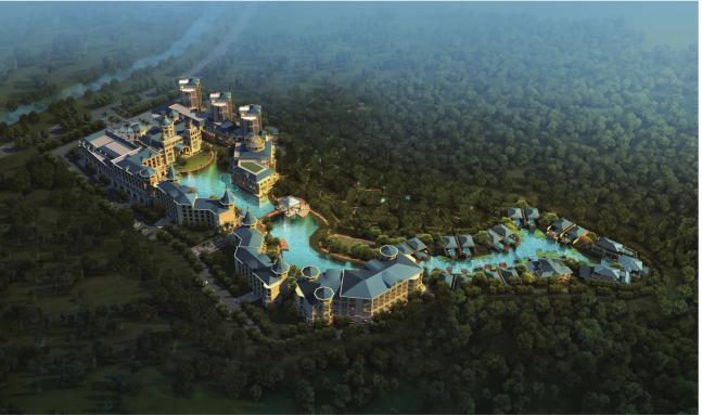 云南鑫益森林温泉度假酒店项目建筑设计(国外知名设计师)