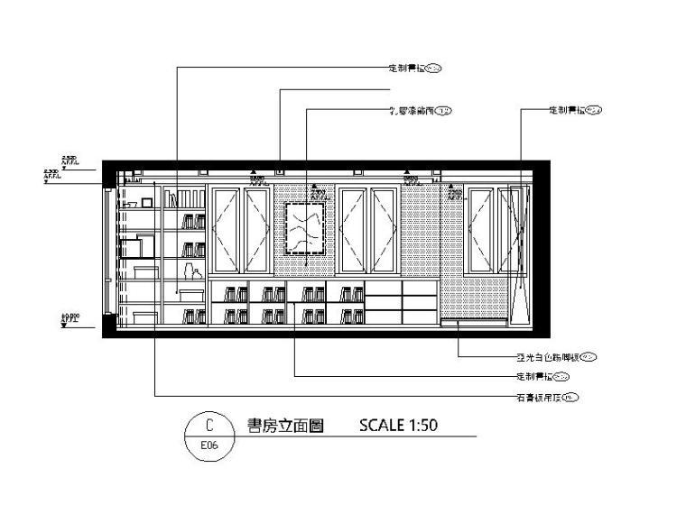 田园风格独栋别墅v田园CAD施工图(含效果图)hoopscad图片