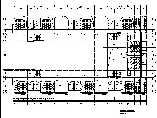 高层现代风格无锡惠山学校规划方案及建筑施工图(方案及施工图全套)