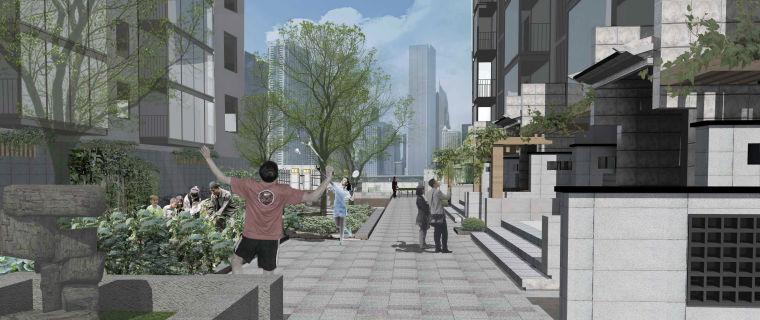 社区改造下沉广场景观方案设计文本(SU模型)_9