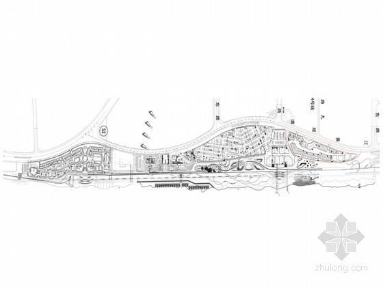 [长沙]滨江新城商业旅游景观带详细设计施工图(较详细)