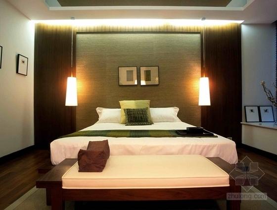 [上海]标准层三居室样板房装修施工图(含实景效果图)实景图