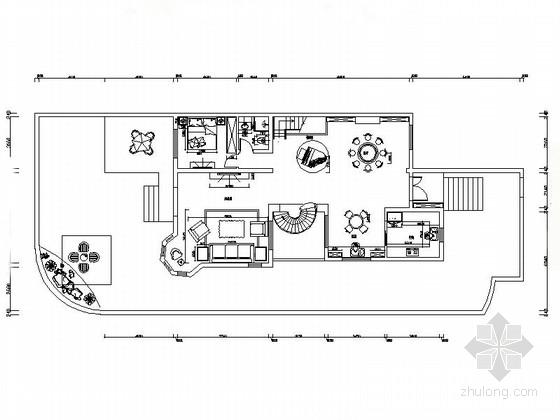 温馨简欧三层别墅设计装修图(含效果)