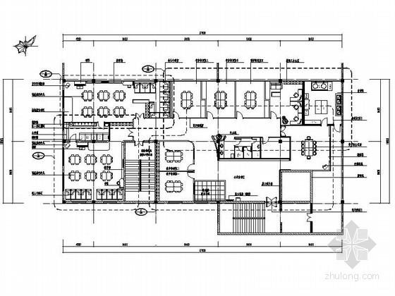 [蘇州]吳江市少兒藝術活動中心裝修cad施工圖(含效果圖)托兒所立面圖圖片