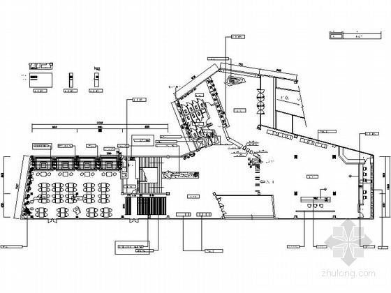 [舟山]国家4A级景区现代国家公园活动中心装修施工图