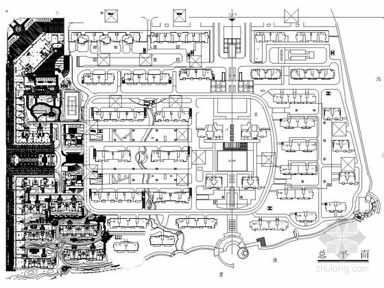 [浙江]知名地产项目居住区三期景观工程竣工施工图(国际知名公司开发)