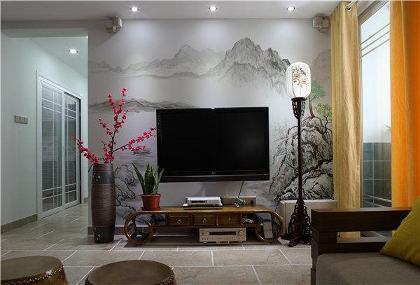 中式古典简约家居装修效果图_6