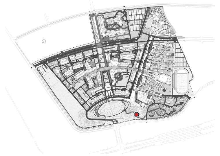 科技大学景观塔平面图(9)