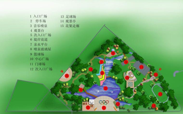 北京高档小区景观设计方案资料下载-[北京]某主题公园景观设计方案包含(建议书+报告书+模型+展板)