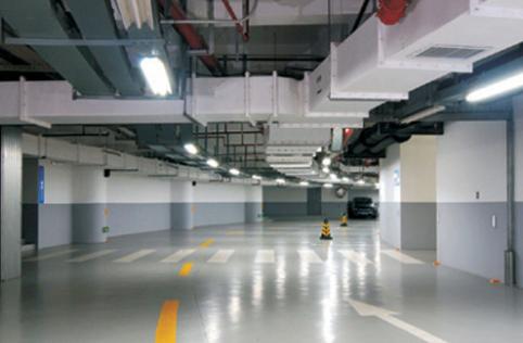 龙湖时代天街项目地下室照明方案