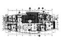 【上海】新中式大户型样板房设计CAD施工图(含效果图)