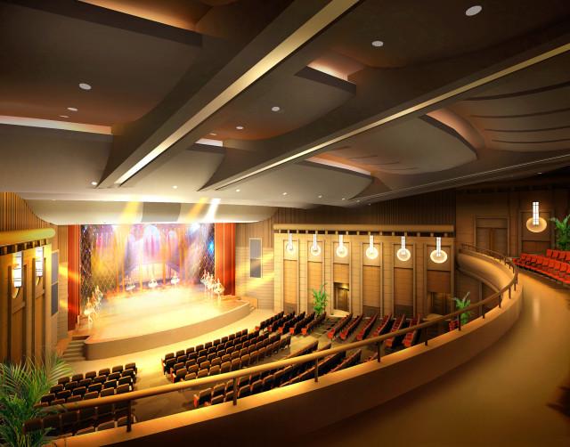 观众厅角度五_副本-钢花影剧院设计方案第7张图片