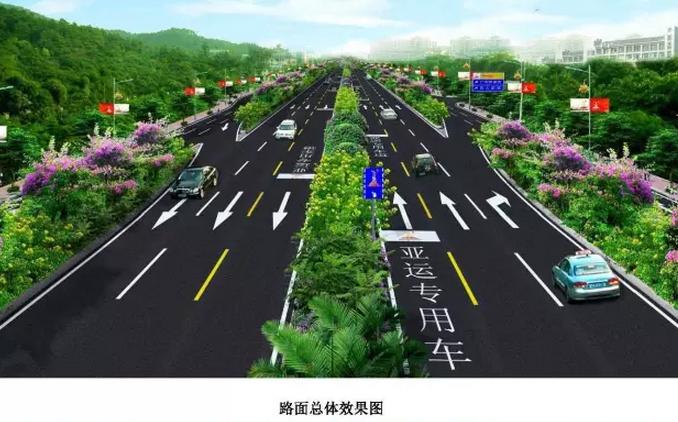 市政道路机动车道建设图文指导