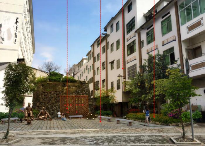 [浙江]乡镇环境综合整治改造城市规划景观设计-景观效果图7
