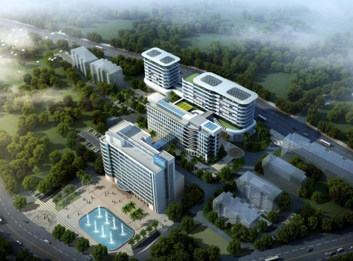 [福建]现代风格医院设计方案文本(改扩建项目)