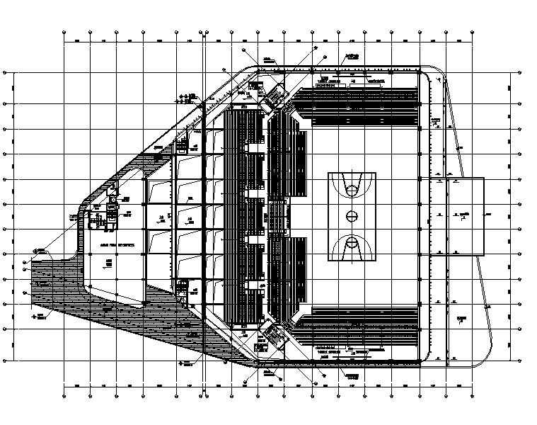 江苏奥体中心全套暖通设计施工图