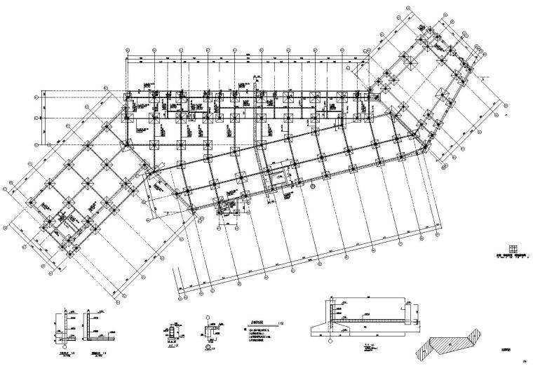 [浙江]温州雁荡山游人中心园林结构施工图设计