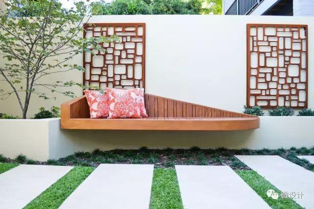 各式各样的庭院景观墙,美_40
