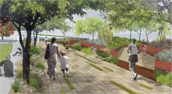 [美国]生态人文休闲活力公园景观设计方案(英文文本)