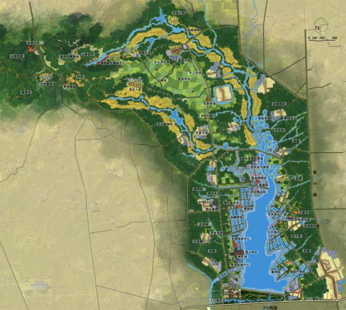 [河南]滨湖郊野生态避难型森林公园景观设计方案_8