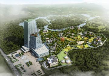 [四川]酒店+会所+民俗村建筑规划设计方案文本(含多种功能)