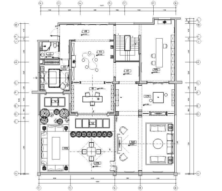 [广东]雅戈尔地产复式样板间概念方案及施工图